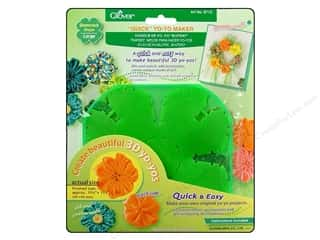 Saint Patrick's Day Quilting: Clover Quick Yo-Yo Maker Shamrock 1 3/4 in. Large