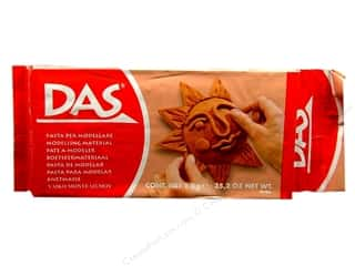 Clay & Modeling 1.75 lb: DAS Air-Hardening Clay 2.2lb Terracotta