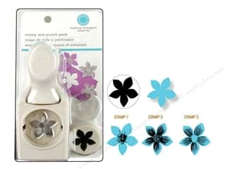 Stamps New: Martha Stewart Stamp & Punch Flower