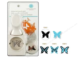 Stamps New: Martha Stewart Stamp & Punch Butterfly