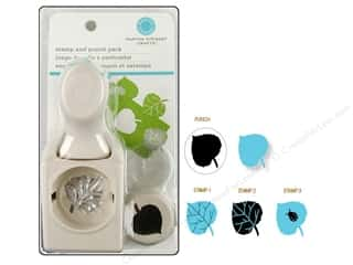 Martha Stewart Stamp & Punch Leaf