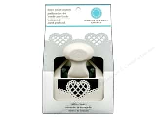 Martha Stewart Punch Deep Edge Lattice Heart