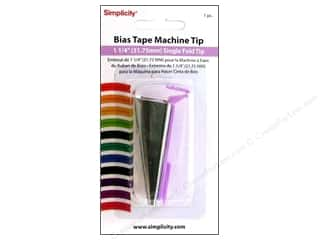 Simplicity Bias Tape Maker Tip Single Fold 1.25&quot;