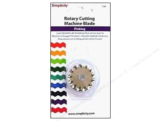 Stock Up Sale Rotary Blades: Simplicity Rotary Cutting Machine Blade Pinking
