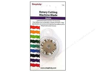Stock Up Sale Rotary Blades: Simplicity Rotary Cutting Machine Blade Deckle