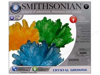 Kid Crafts Crafting Kits: NSI Activity Kit Smithsonian Crystal Growing 3