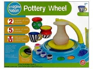 Kid Crafts Hot: NSI Activity Kit Pottery Wheel