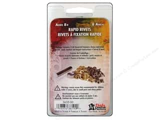 Leather Factory Kit Rapid Rivets Plain 60pc Astd
