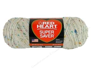 Red Heart Super Saver Yarn #4318 Soft White Fleck 5 oz.