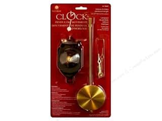 Clock Making Supplies Scrapbooking: Walnut Hollow Pendulum Clock Movement Large 12 in.