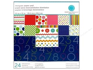 Martha Stewart Paper Pad 12&quot;x 12&quot; Kids
