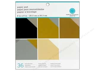 Martha Stewart Paper Pad 8&quot;x 8&quot; Neutrals