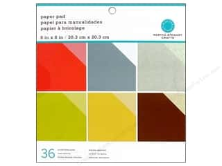 Martha Stewart Paper Pad 8&quot;x 8&quot; Tonals