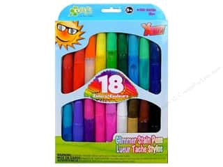Kelly&#39;s Stain Pens Glimmer 18pc