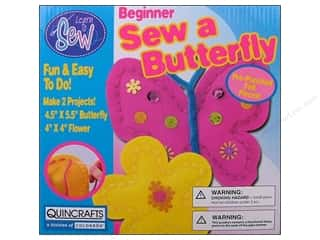 Colorbok Sewing Kits: Colorbok Learn To Kit Sew Butterfly & Flower