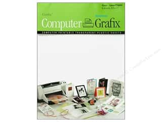 Grafix Computer Tranparent Film Laser 8.5x11&quot; 6pc
