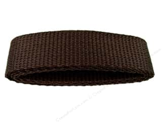 "Straps / Strapping Purse Accessories: Petersen Arne Polypropylene Webbing 1""x36"" Package Brown (3 packages)"