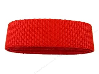 "Straps / Strapping Purse Accessories: Petersen Arne Polypropylene Webbing 1""x36"" Package Red (3 packages)"