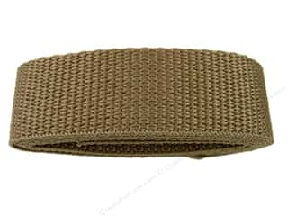 "Clearance Blumenthal Favorite Findings: Petersen Arne Polypropylene Webbing 1x36"" Pkg Beig (3 packages)"