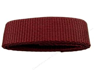 "Straps / Strapping Purse Accessories: Petersen Arne Polypropylene Webbing 1""x36"" Package Burgandy (3 packages)"