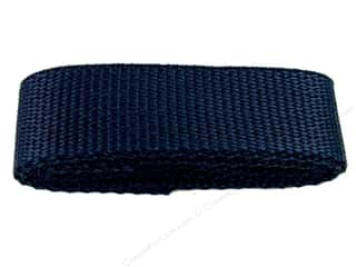 "Straps / Strapping Purse Accessories: Petersen Arne Polypropylene Webbing 1""x36"" Package Navy (3 packages)"