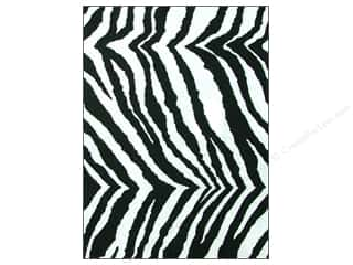 CPE Printed Felt 9&quot;x 12&quot; Zebra (12 sheets)
