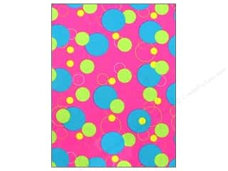 CPE Printed Felt 9&quot;x 12&quot; Geometric Pink (12 sheets)