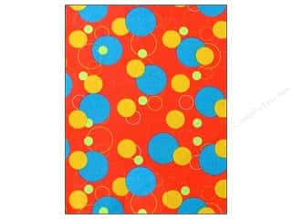 "Felt Sheets / Felt Squares: CPE Printed Felt 9""x 12"" Geometric Red (12 sheets)"
