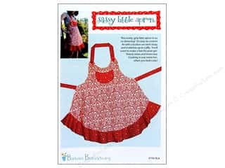 Cabbage Rose Sassy Little Apron Pattern