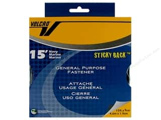 Velcro Sticky Back Tape 3/4 in. x 15 ft. Bulk Box Navy (15 feet)