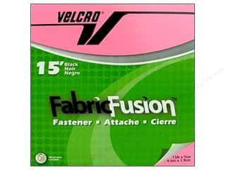 fasteners: Velcro Fabric Fusion Tape 3/4 in. x 15 ft. Black (15 feet)