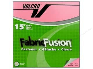 Velcro / Hook & Loop Tape Iron-On Velcro / Iron-On Hook & Loop Tape: Velcro Fabric Fusion Tape 3/4 in. x 15 ft. White (15 feet)