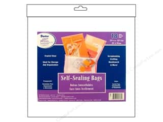 "Art Impressions $12 - $14: Darice Empty Storage Bags Tool Box Self Seal 12.25""x 12.25"" 18pc"
