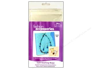 "Bags $4 - $6: Darice Empty Storage Bags Tool Box Self Seal 4.17""x 6.17"""