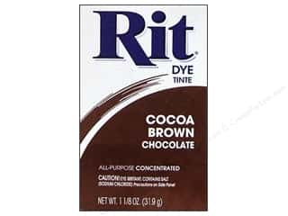 Rit Dye $3 - $4: Rit Dye Powder 1 1/8 oz Cocoa Brown