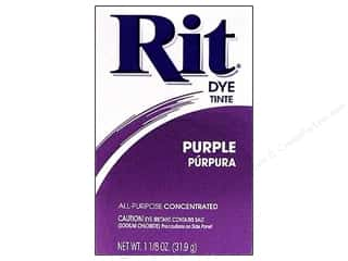 Rit Dye Stenciling: Rit Dye Powder 1 1/8 oz Purple