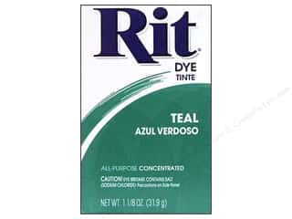 Rit Dye Powder: Rit Dye Powder 1 1/8 oz Teal
