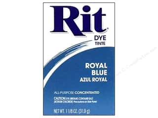 Rit Dye Stenciling: Rit Dye Powder 1 1/8 oz Royal Blue