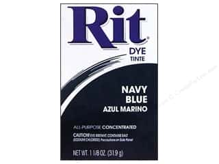 Rit Dye Blue: Rit Dye Powder 1 1/8 oz Navy Blue