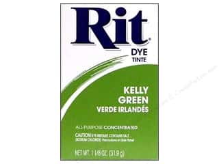 Rit Dye Powder: Rit Dye Powder 1 1/8 oz Kelly Green