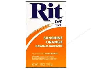 Rit Dye Powder: Rit Dye Powder 1 1/8 oz Sunshine Orange