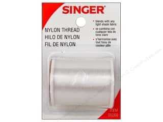 Threads Clear: Singer Nylon Thread Clear 135 yd.