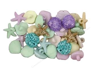 Clearance Blumenthal Favorite Findings: Jesse James Embellishments Tiny Seashells