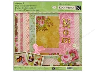 K&amp;Co Pages Pre Designed Simply K Mom
