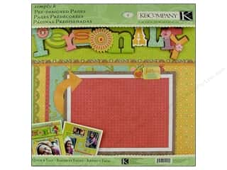 K&amp;Co Pages Pre Designed Simply K Personality