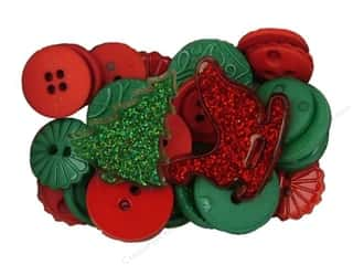 Christmas $2 - $4: Jesse James Dress It Up Embellishments Christmas Collection Christmas Mix