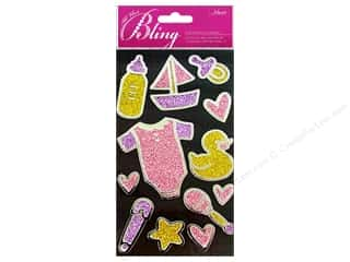 Pins Baby: Jolee's Bling Stickers Outline Baby Girl