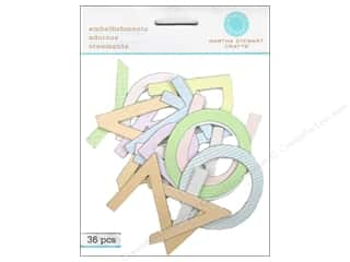 Martha Stewart Sticker Pastel Felt Numbers