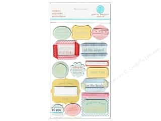 Martha Stewart Sticker Layered Travel