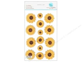 martha stewart: Martha Stewart Sticker Sunflower